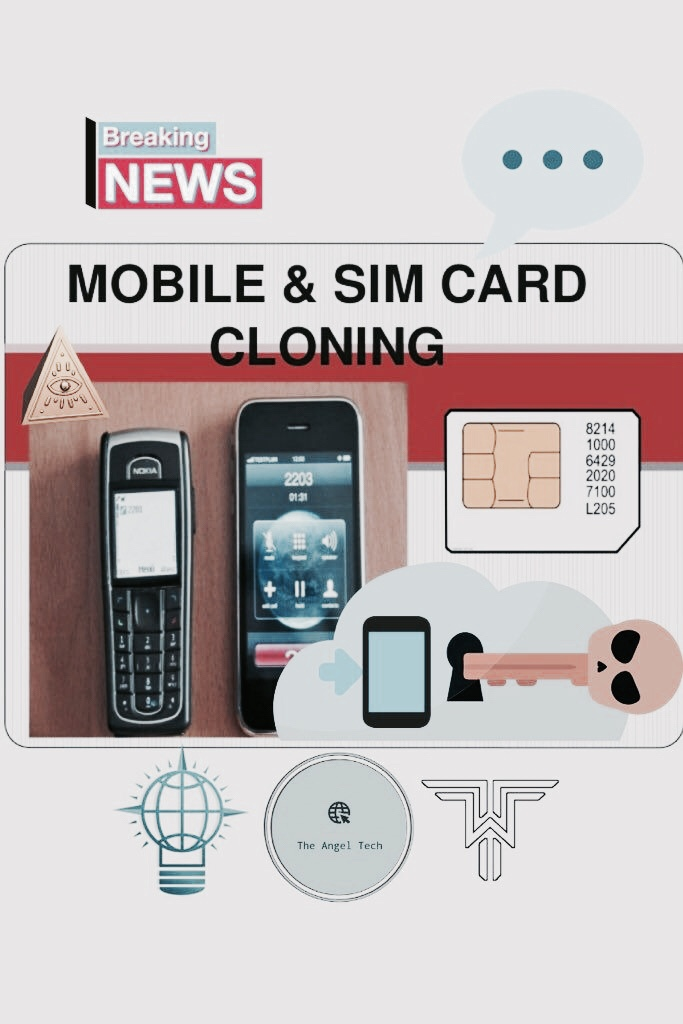 SIM card Fraud Graphic Design Cover